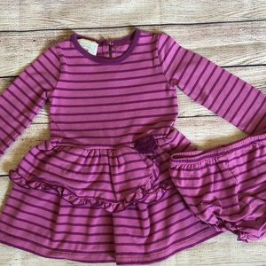 Other - Long sleeve dress with diaper cover